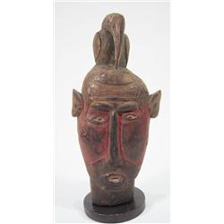 AN OLD ABELAM CEREMONIAL ANCESTOR MASK