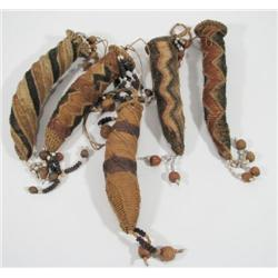 A COLLECTION OF FOUR SEPIK PHALLOCRYPTS