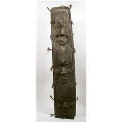 A SEPIK HARDWOOD SHIELD
