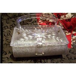 Vintage 1950 Lucite Purse By Charles Kahn #1918844
