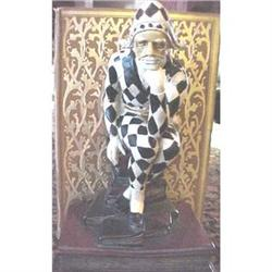 Vintage harlequin bookends #1958495