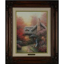 L/E LITHOGRAPH THOMAS KINCADE AUTUMN ASHLEY'S