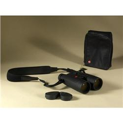 LEICA TRINOVID 12X50 BLACK BINOCULARS LEATHER CASE