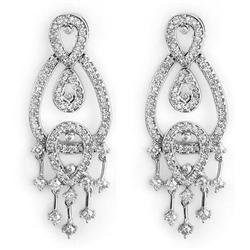 CHANDELIER EARRINGS 2.0ctw ACA CERTIFIED DIAMOND 14KT