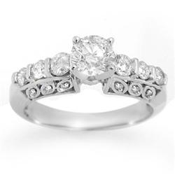 SOLITAIRE 1.50ctw ACA CERTIFIED DIAMOND BRIDAL RING