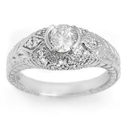 BRIDAL 0.75ctw CERTIFIED DIAMOND ANNIVERSARY RING GOLD