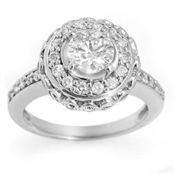 BRIDAL 2.04ctw CERTIFIED DIAMOND ANNIVERSARY RING GOLD