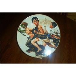 Two Norman Rockwell Collector Plates #1948166