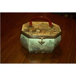 Decoupage Boxed Purse #1948174
