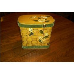 Hand Made Basket Weave Boxed Purse #1948175