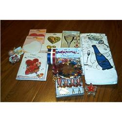 Box Lot Of Holiday Collectibles #1948178