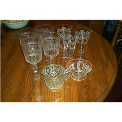 Assortment of Vintage Glassware #1948182