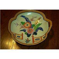 Handpainted Japan Finger Handle Bowl #1948183