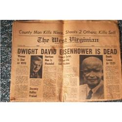 """THE WEST VIRGINIAN NEWSPAPER - 1969 #1948189"