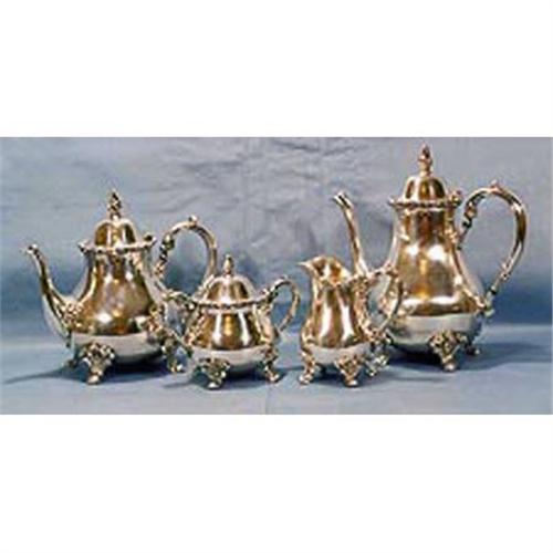 Silverplated Coffee And Tea 5 Piece Set 1978689