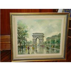 French Painting, Paris by Maurice Legendre #1979124