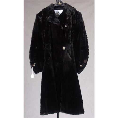 Seal Fur Coat w/ Hat and Muff