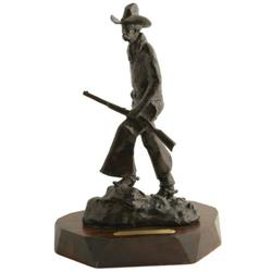 Melvin C. Warren, Bronze Sculpture