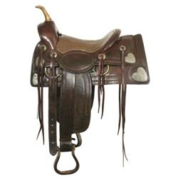264: Sam Garrett's C.P. Shipley Saddle
