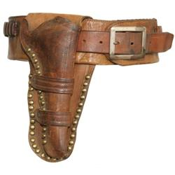266: Miles City Saddlery Gun Belt, Holster