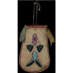 294: Crow Beaded Bag, c. 1890s