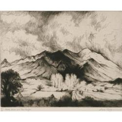 524: Gene Kloss, Etching and Drypoint