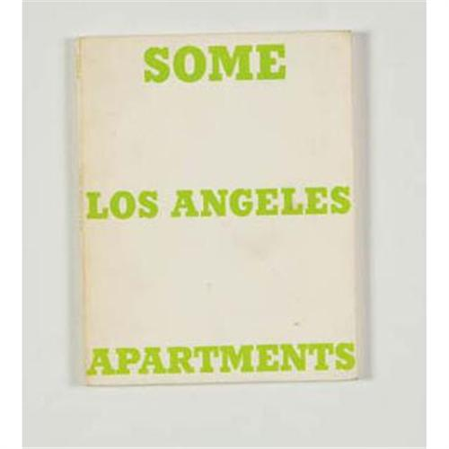 Ed Ruscha Some Los Angeles Apartments