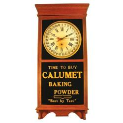 Calumet Baking Powder Clock