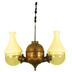 Double Angle Ceiling Lamp