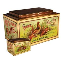 Game Fine Cut Tobacco Store Tin