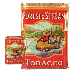 Forest and Stream Tobacco Pocket Tin