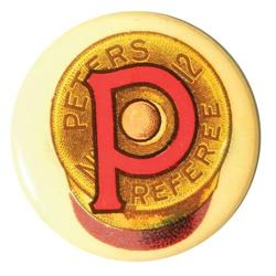 Peters Referee number 12 Celluloid Pin Back