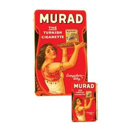 Murad Turkish Cigarettes Porcelain Sign