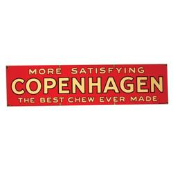 Copenhagen Chewing Tobacco Porcelain Sign