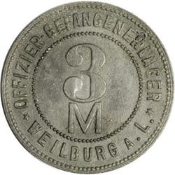 World War I Austria-German POW Tokens for Allied