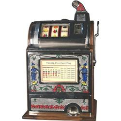 25 cent Jennings Dutch Boy Slot Machine