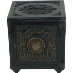 Royal Safe Combination Cast Iron Bank