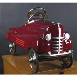 Restored 1941 Pontiac Pedal Car  (not a re-pro)
