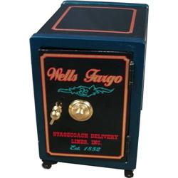 Wehrle Co Safe restored in Wells Fargo motif
