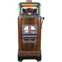 5 cent 10 cent Jennings Challenger Slot Machine.