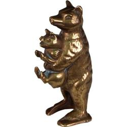Figural Bear stealing Pig Still Bank