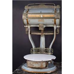 Model 144 Dayton Grocery scale with ornate castings and