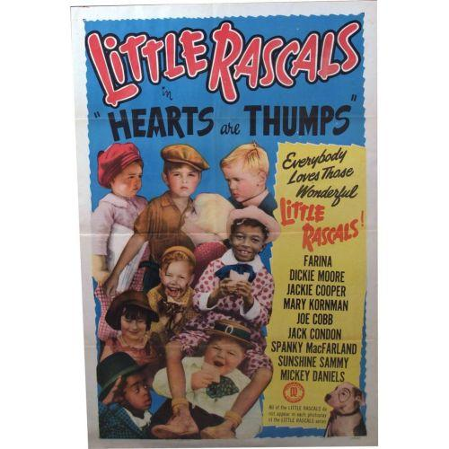 original little rascals movie poster 27 x 41quot