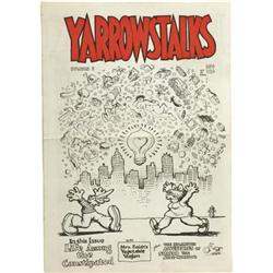 Yarrowstalks #3 (Brian Zahn, 1967) Condition: