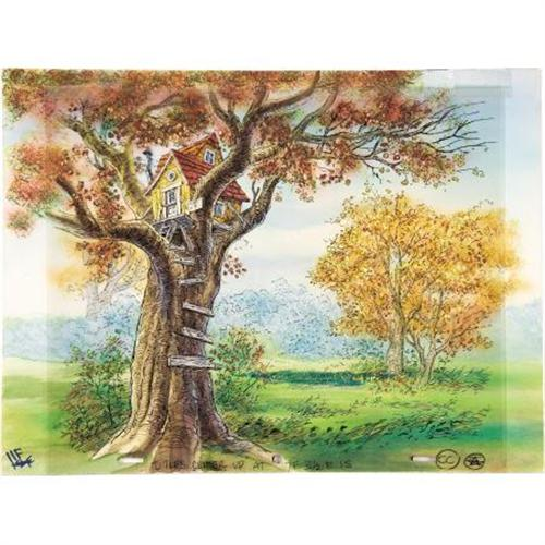 Winnie The Pooh Forest Background: Winnie-the-Pooh Background Drawing Original Art