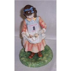 8  ROYAL DOULTON FIGURINE ORNAMENT  AGE OF IN