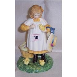 ROYAL DOULTON FIGURINE  AGE OF INNOCENCE, FEE
