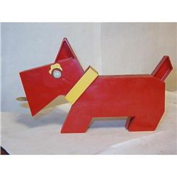 1955 SCOTTISH TERRIER  DOG FLASHLIGHT FIGURINE #2076852
