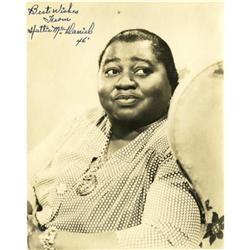 Hattie McDaniel Autographed Photo