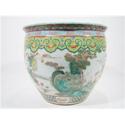 A FINE LATE CHING DYNASTY PORCELAIN BOWL, c.1